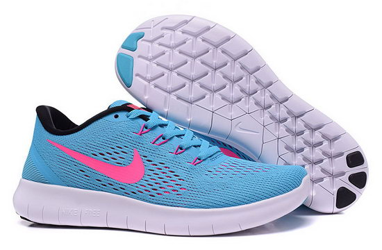 Womens Nike Free Running Jade Pink Uk