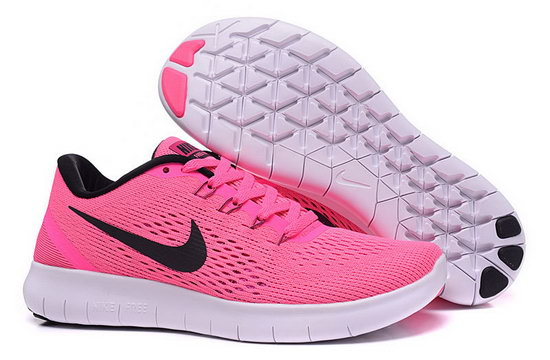Womens Nike Free Running Pink Black Coupon Code