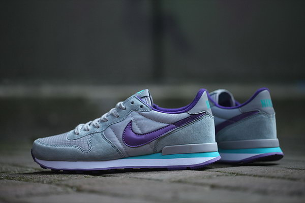 Womens Nike Internationalist Grey Purple 36-40 Hong Kong