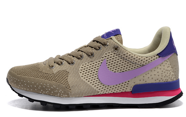 Womens Nike Internationalist Jcrd Weave Beige Purple 36-39 Taiwan