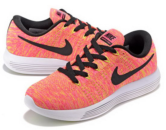 Womens Nike Lunarepic Low Flyknit Orange Black 36-39 Hong Kong