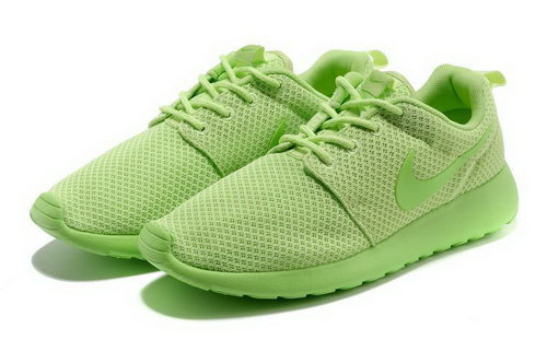 Womens Nike Roshe Run Green Yellow Japan