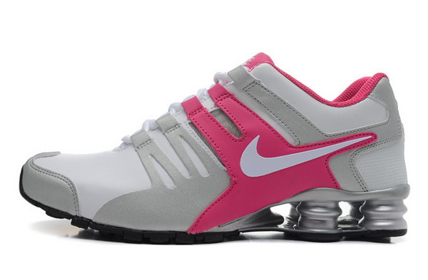Womens Nike Shox Current White Pink 36-40 Netherlands