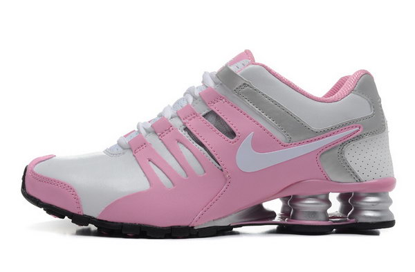 Womens Nike Shox Current White Pink Grey 36-40 Low Cost