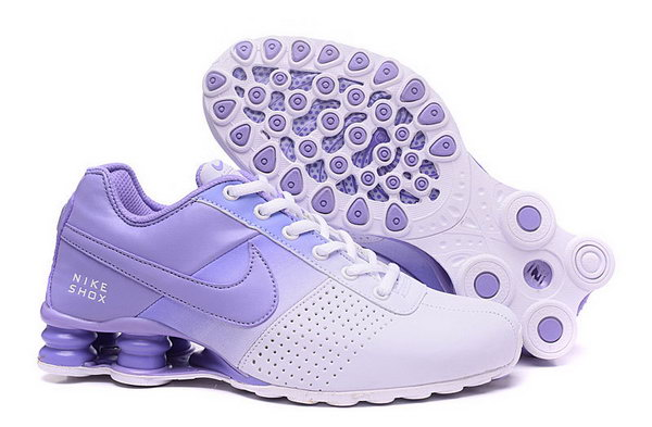 Womens Nike Shox Deliver White Purple 36-40 For Sale