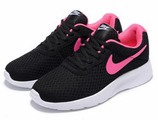 Womens Nike Tanjun Black Pink Germany