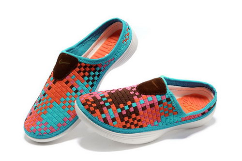 Womens Nike Trainers Solarsoft Mule Woven Premium Sport Turquoise Sandals Cheap