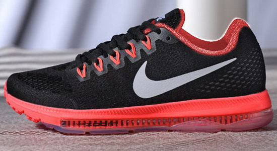 Womens Nike Zoom All Out Black Red 36-39 Norway