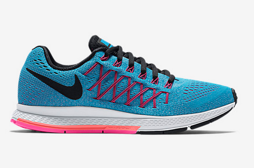 Womens Nike Zoom Pegasus 32 Blue Black Outlet Online