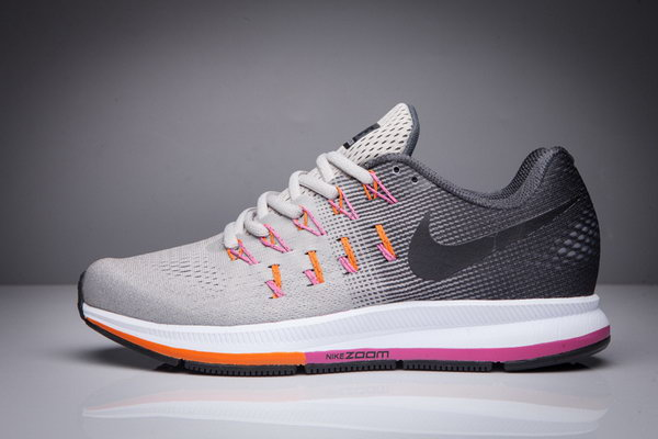 Womens Nike Zoom Pegasus 33 Grey Dark Grey 36-40 Uk