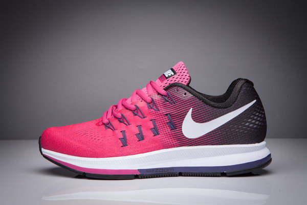 Womens Nike Zoom Pegasus 33 Pink Black White 36-40 Wholesale