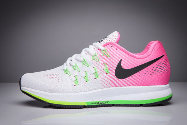 Womens Nike Zoom Pegasus 33 White Pink Black 36-40 Sale
