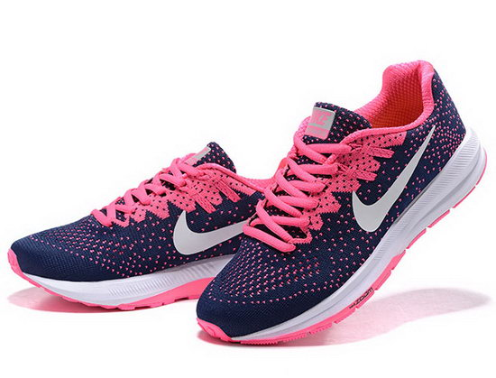 Womens Nike Zoom Structure 20 Dark Blue Pink 36-39 Discount