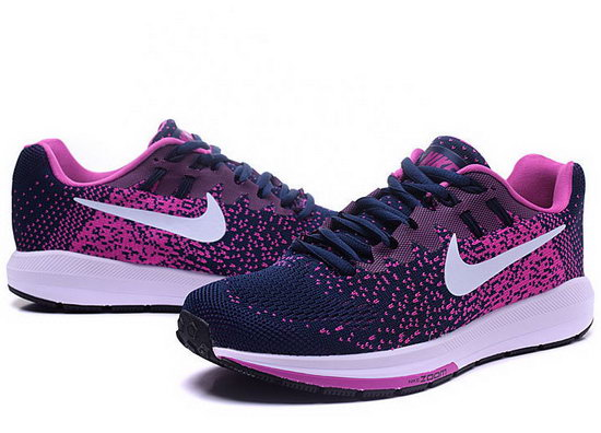 Womens Nike Zoom Structure 20 Dark Blue Purple 36-40 Denmark