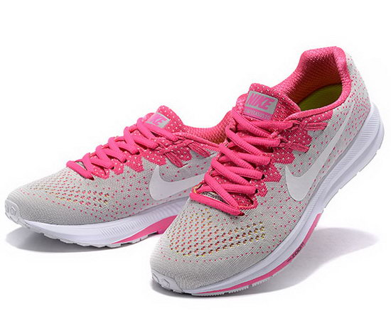 Womens Nike Zoom Structure 20 White Pink 36-39 Factory Store