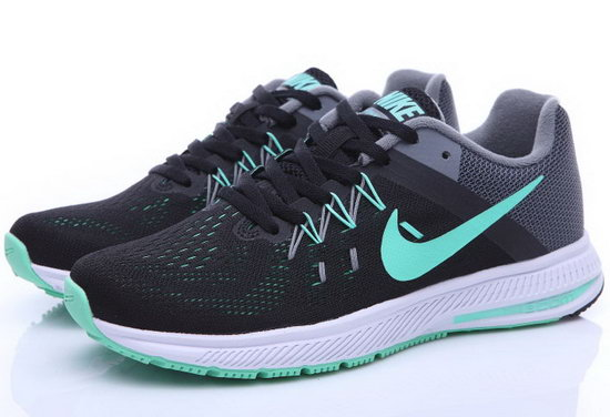 Womens Nike Zoom Winflo 2 Black Mint Green 36-39 Taiwan