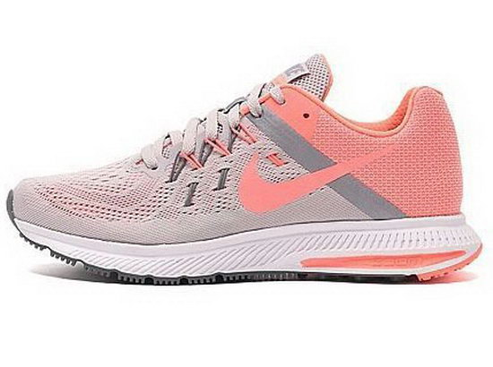 Womens Nike Zoom Winflo 2 Light Grey Pink 36-40 Inexpensive
