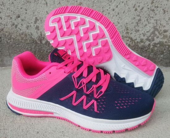 Womens Nike Zoom Winflo 3 Pink Dark Blue 36-40 Korea