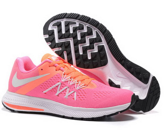 Womens Nike Zoom Winflo 3 Pink Orange 36-39 Closeout