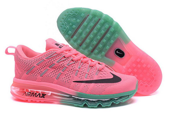 Womens Pink Green Grey Black Flyknit Air Max 2016 Womens Canada