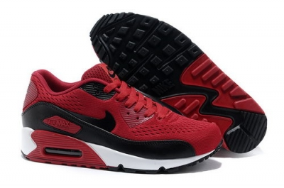 Nike Air Max 90 Prm Em Unisex Red Black Casual Shoes Spain