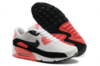 Wmns Nike Air Max 90 Prem Tape Sn Unisex White And Pink Sports Shoes Poland