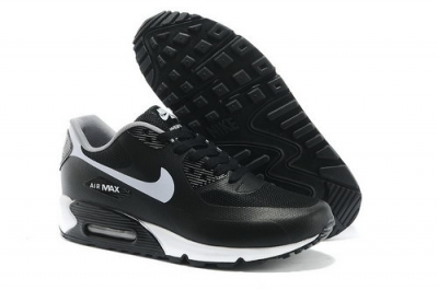 Nike Air Max 90 Hyp Prm Men Black White Running Shoes Netherlands