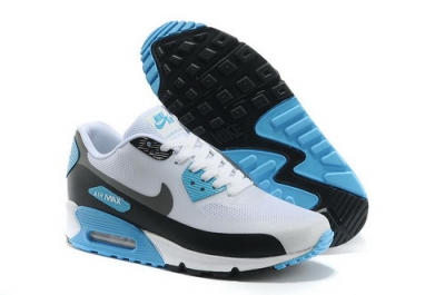 Nike Air Max 90 Hyp Prm Men Blue White Running Shoes Best Price
