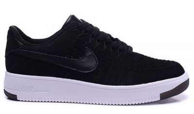 Mens & Womens (unisex) Nike Air Force 1 Flyknit Low Black Germany