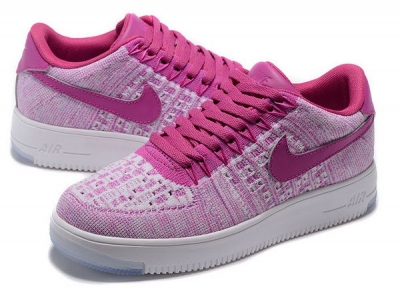 Womens Nike Air Force 1 Flyknit Low Purple Sweden