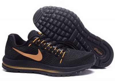 Mens Nike Zoom Vomero 12 Black Gold 40-45 Wholesale