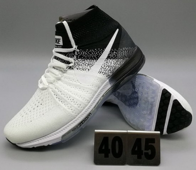 Mens Nike Zoom All Out Flyknit White Black Discount