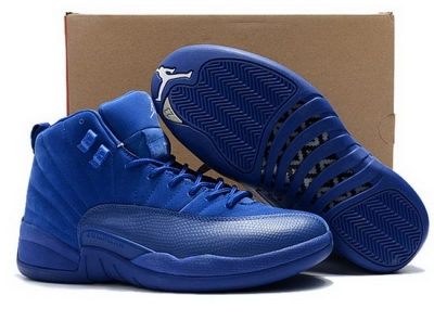 Air Jordan Retro 12 All Deep Royal Blue