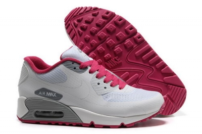 Nike Air Max 90 Hyp Frm Women White Pink Running Shoes Japan