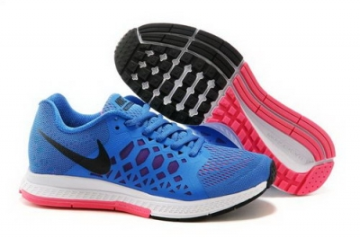 Nike Air Zoom Pegasus 31 Lunar Womens Shoes Blue White Pink Outlet Store