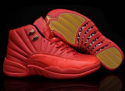 Air Jordan Retro 12 All Big Red Best Price