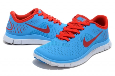 Nike Free Run 4.0 Womens & Mens (unisex) Dark Blue Red Norway