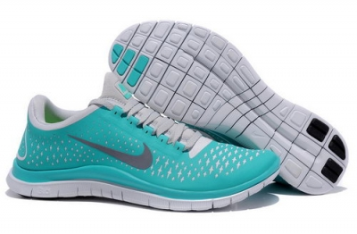 Nike Free Run 3.0 V4 Mens Verdancy Silver Ireland
