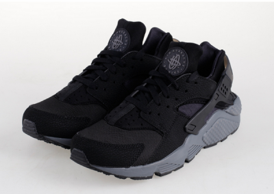 Womens & Mens (unisex) Nike Air Huarache Black Carbon Soot 36-46 Cheap