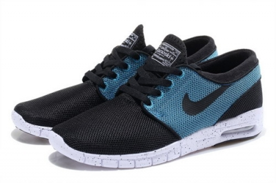 Nike Sb Stefan Janoski Max Mens & Womens (unisex) Black Light Blue Low Price