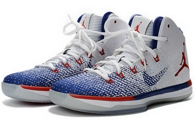 Womens Air Jordan Retro 31 Usa Blue White Red Low Cost