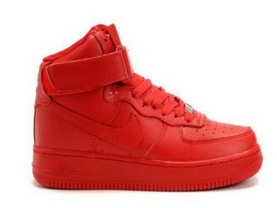 Womens Nike Air Force 1 High Wns Qk Child Red Taiwan